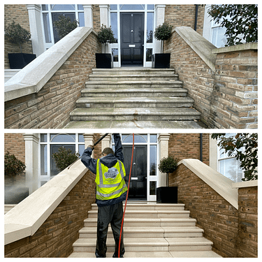 jet washing services/stone cleaning