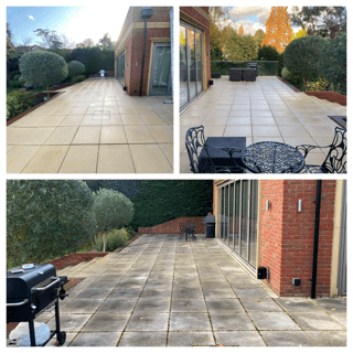 PRESSURE WASHING, PATIO CLEANING SEVICE COOMBE