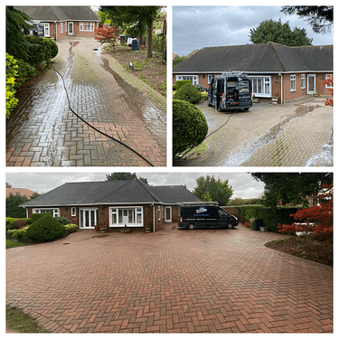 driveway cleaning in Epsom