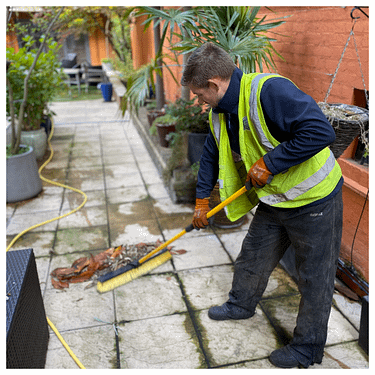 How to clean a patio, Preparation and cleaning tips