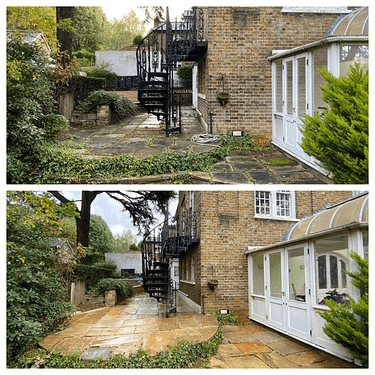 patio cleaning, Kingston upon thames