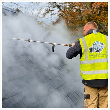 Doff exterior steam Cleaning