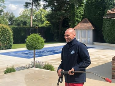 Stone cleaning service in Cobham Surrey