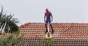 How did Spider-Man Pressure Clean a Roof During a Rainstorm?