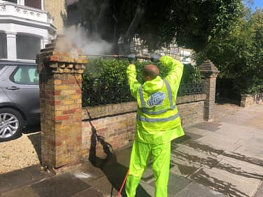 Doff Brick cleaning service Barnes, London