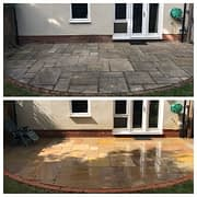 Black Spot Removal Service - Pressure Cleaning Services (Indian Sand-Stone)