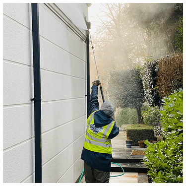 render and stone cleaning service, Cobham Surrey