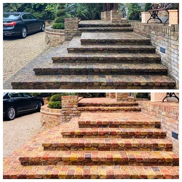 Doff brick cleaning London