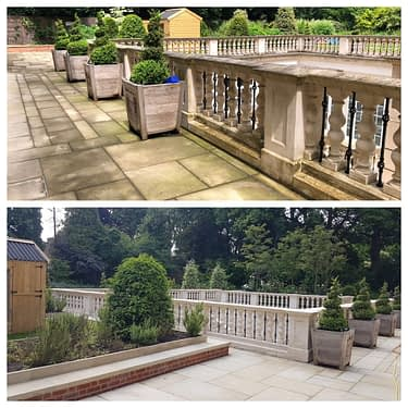 stone cleaning, and patio cleaning service highgate london