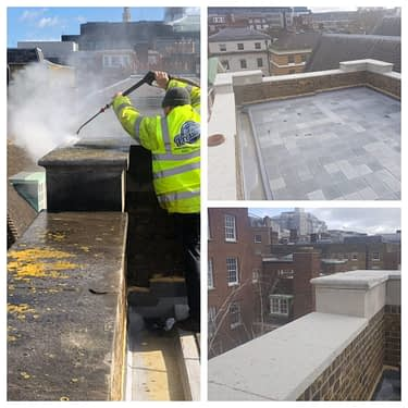 How to clean Portland stone, Portland stone cleaning in the city of london