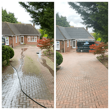 driveway cleaning, block paving