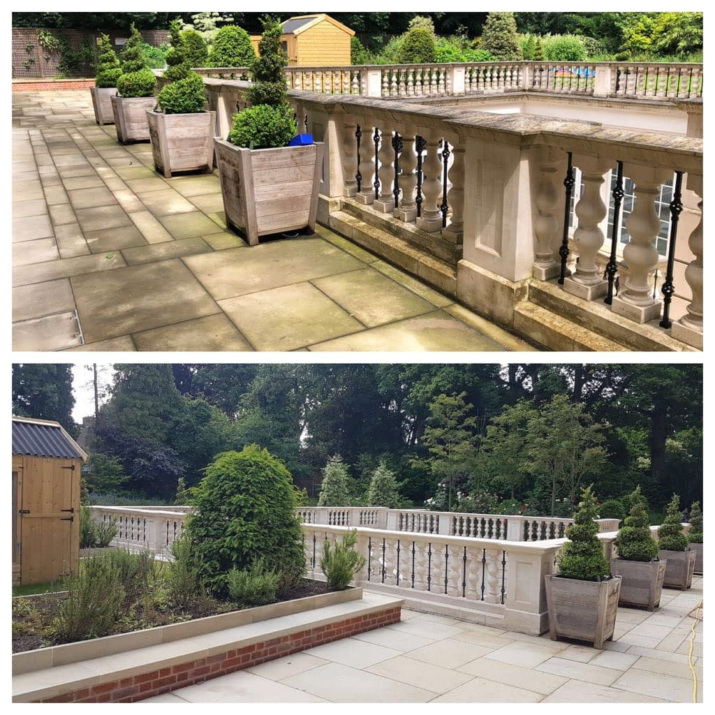 stone cleaning london
