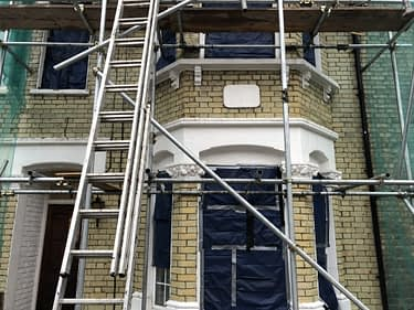 yellow stock brick cleaning london