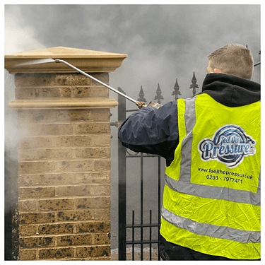 stone cleaning/jet washing service