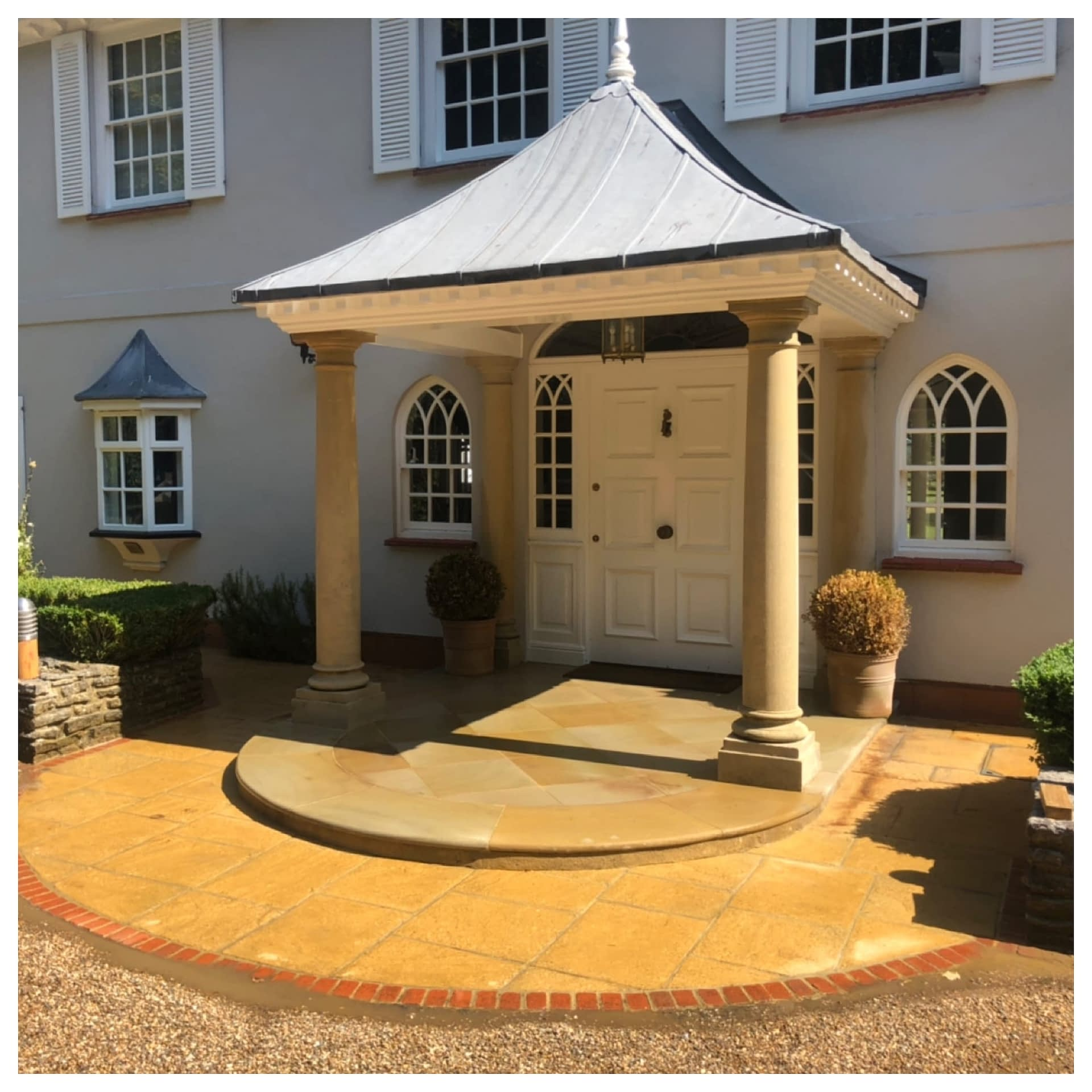 Therma-Tech superheated patio and stone cleaning in Ascot Berkshire